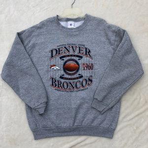 NFL Denver Broncos Team Sweatshirt Pullover  L